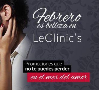 Febrero Es Belleza Al Mejor Precio En LeClinic's