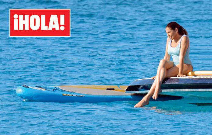 El cuerpo de Isabel Pantoja en Ibiza