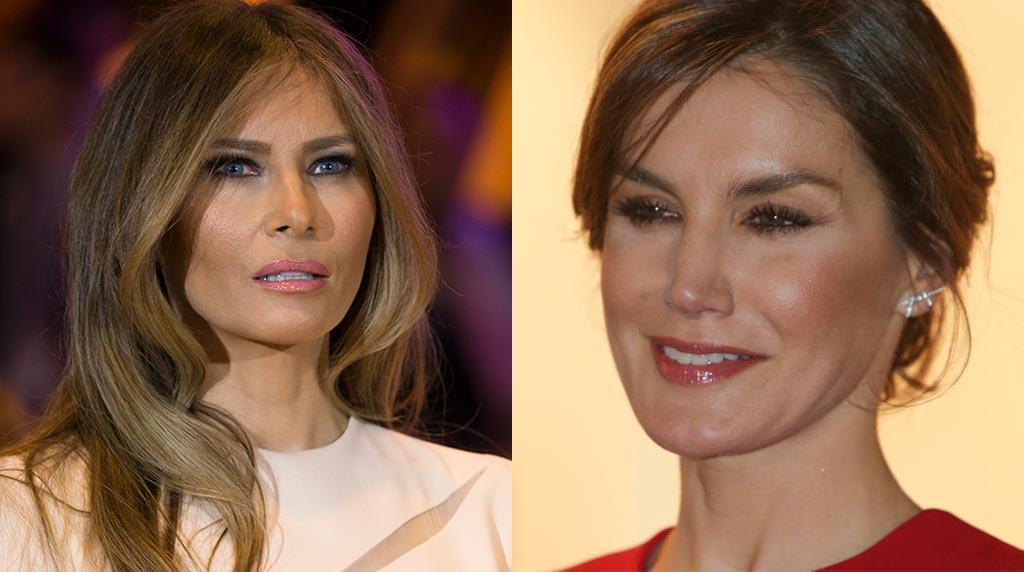 Que cosas en común tienen la primera dama de Estados Unidos y la reina de España