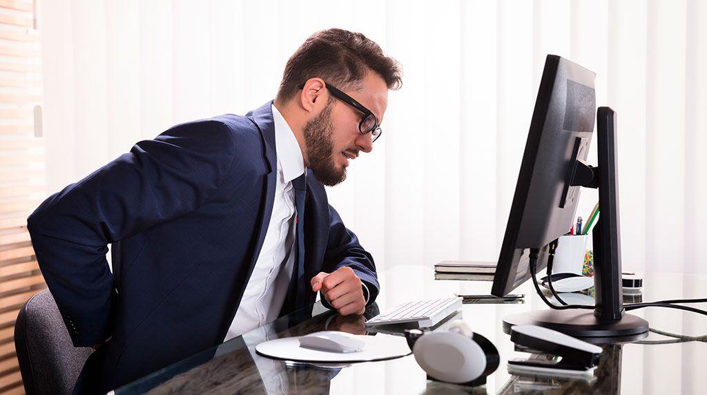 Consejos para una buena postura frente al ordenador
